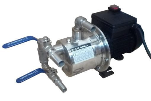 Blue Gold Feed Pump Inox