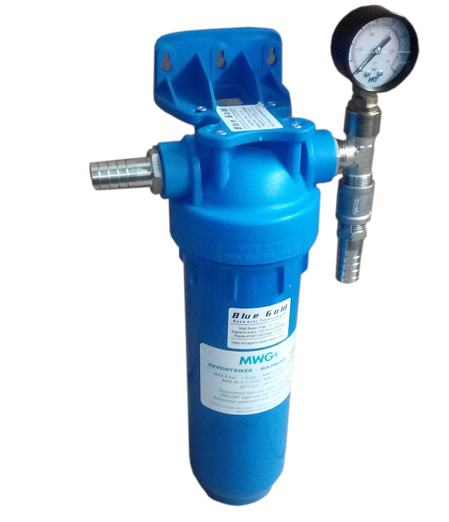 """Single prefilter assembly - Standard DOE 10"""" (5 micron) 