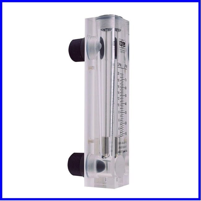 Flowmeter in plexiglass 120 and 240 lt/h for water | BLUE GOLD Watermakers